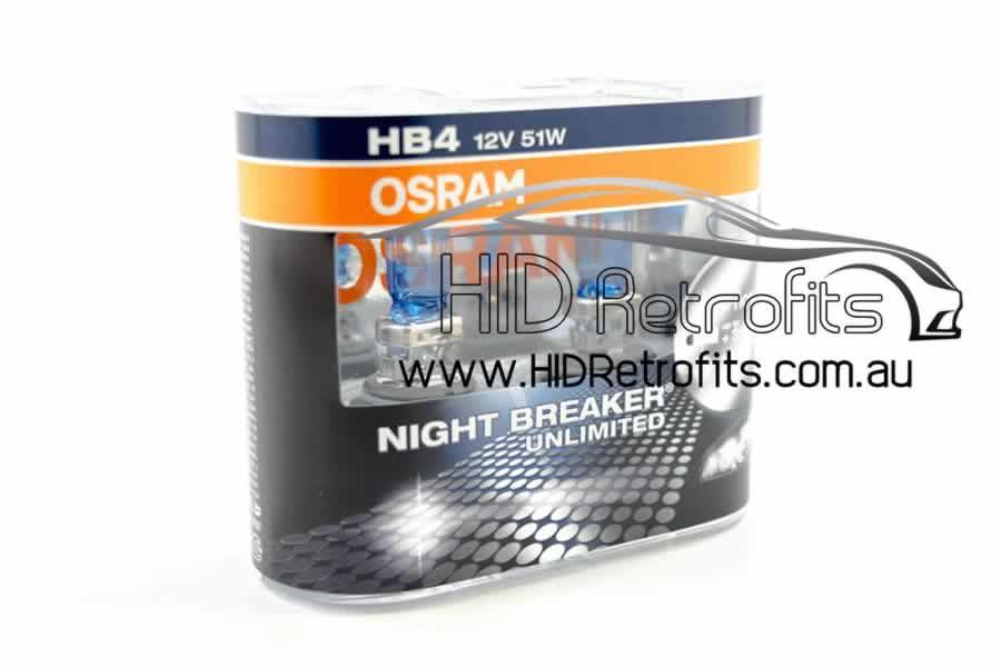 HB4 9006 Halogen Osram Nightbreaker Unlimited